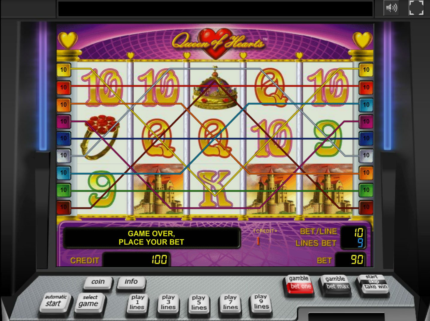 free online casino slot queen of hearts online spielen