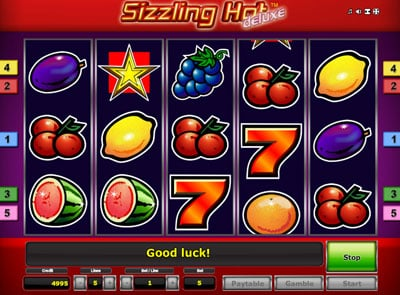online casino startguthaben sizzling hot deluxe download