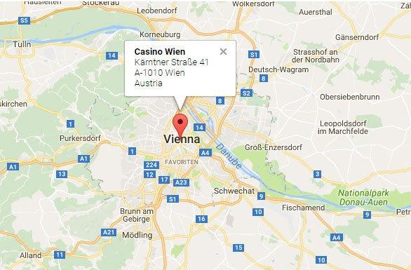 Casino Austria Map