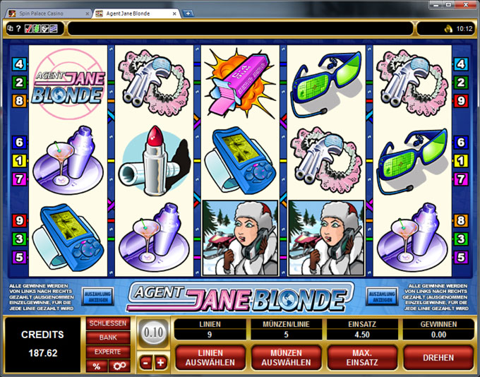 Agent Jane Blonde | Euro Palace Casino Blog