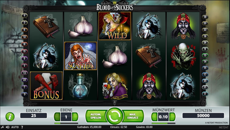 Blood Suckers | Spielautomaten im Online Casino | Mr Green