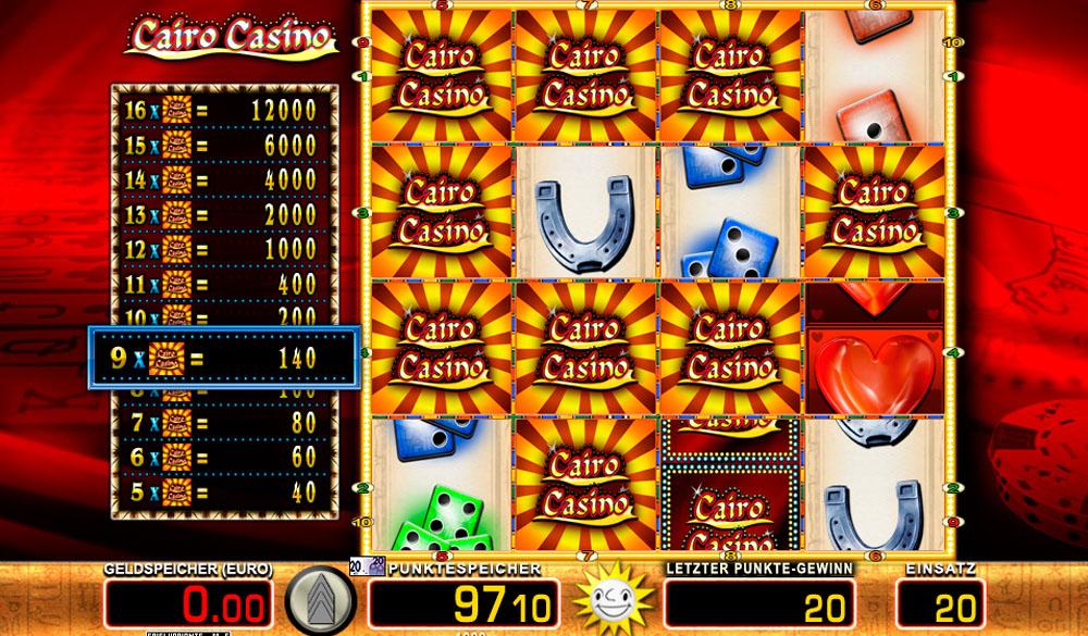 Cairo Casino Online Spielen
