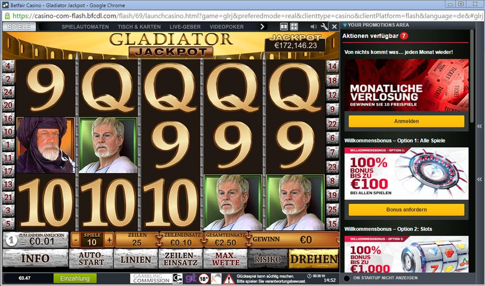 Gladiators Spielautomat Kostenlos Online Spielen