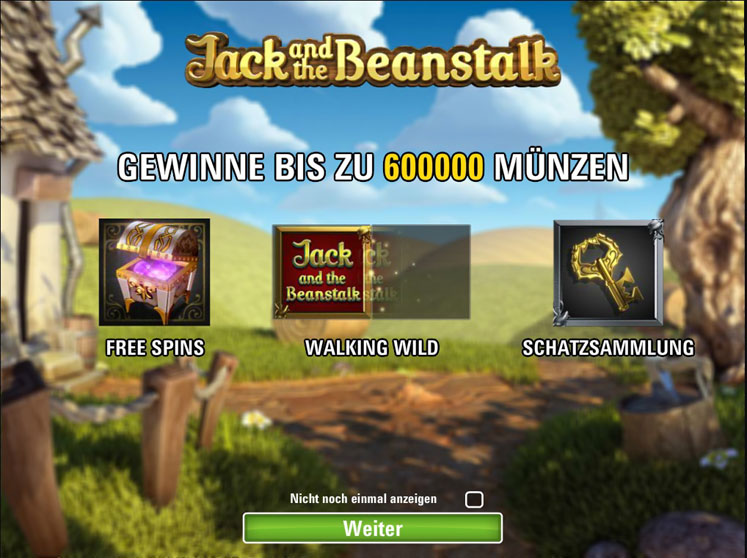 Jack and the Beanstalk Spiel