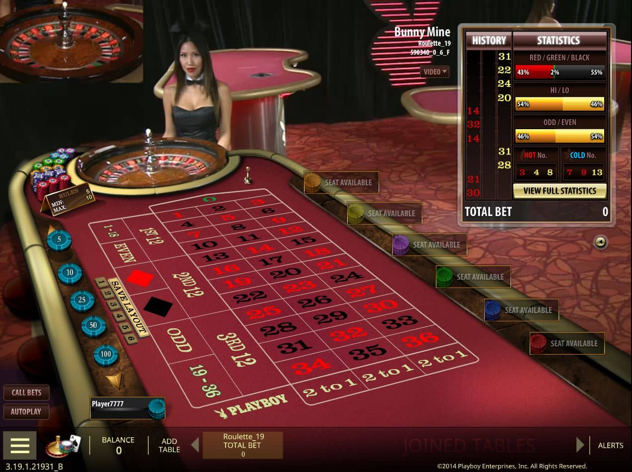 roulette computer online casino