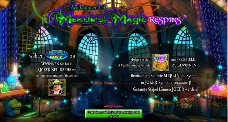Merlin Magic Respins