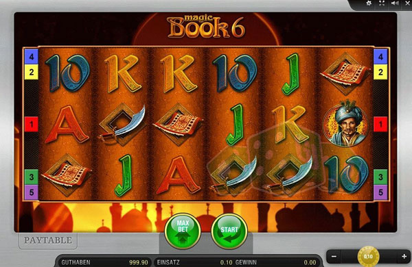 Magic Book online Spielautomat