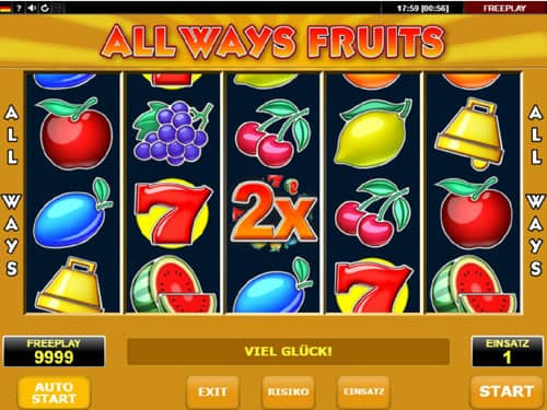 All Ways Fruits Slot