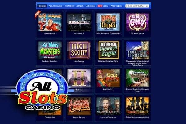 all slots casino online