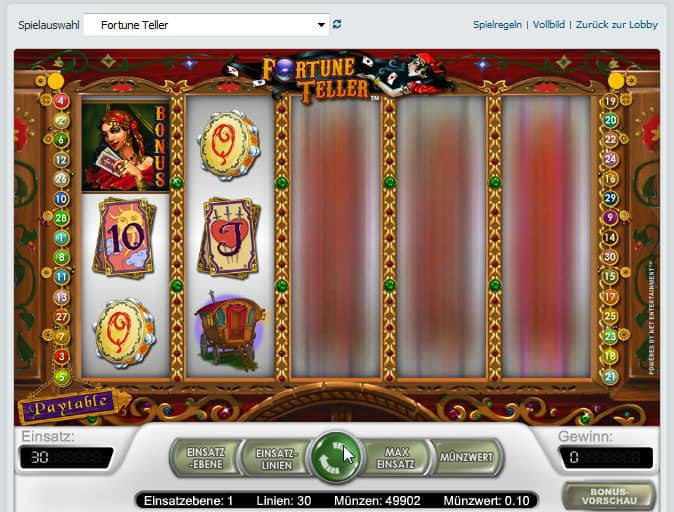 online casino test fortune online