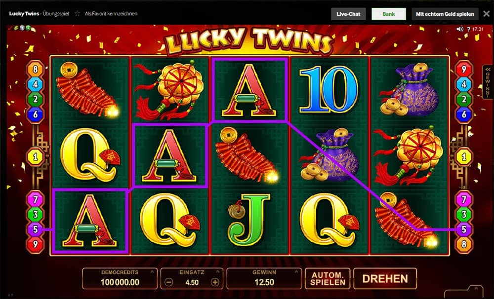 Bei Betway Lucky Twins