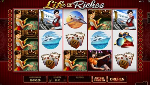 Life of Riches Automatenspiel