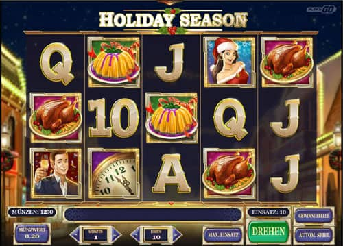 Holiday Season Slot