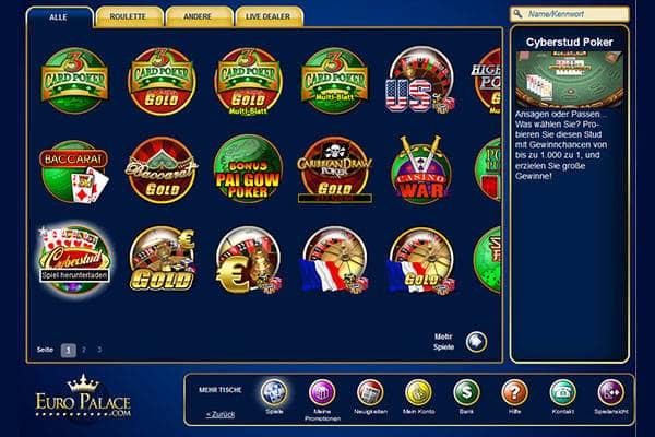 euro palace casino testbericht