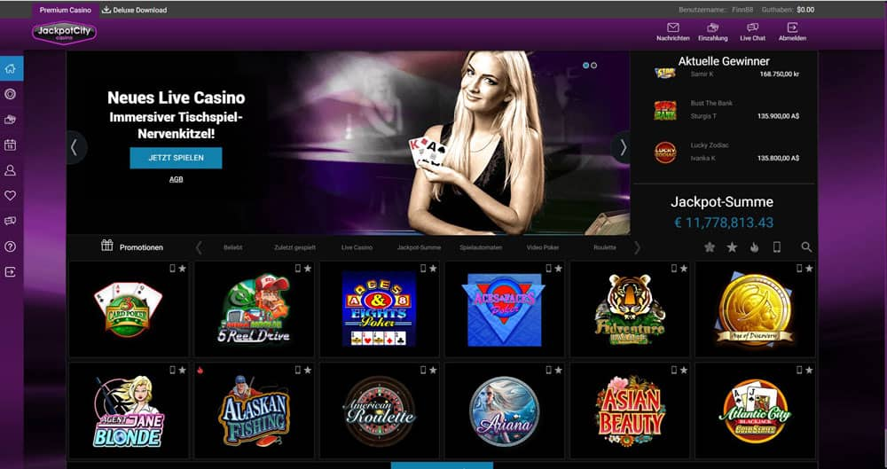 casino city online casino echtgeld