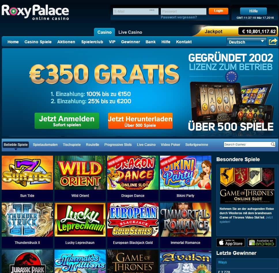 Roxy Casino Online