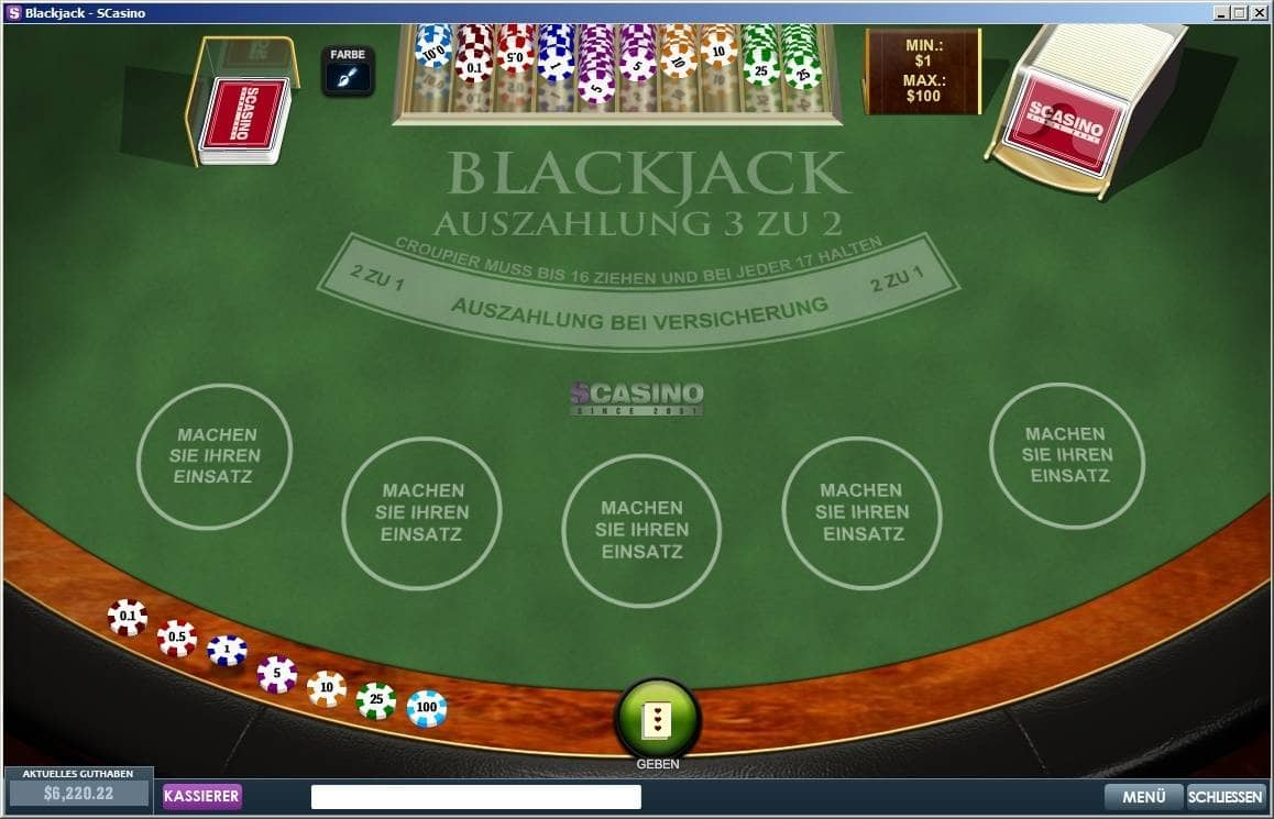 SCasino Blackjack