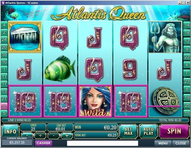 Atlantis Queen Spielautomat