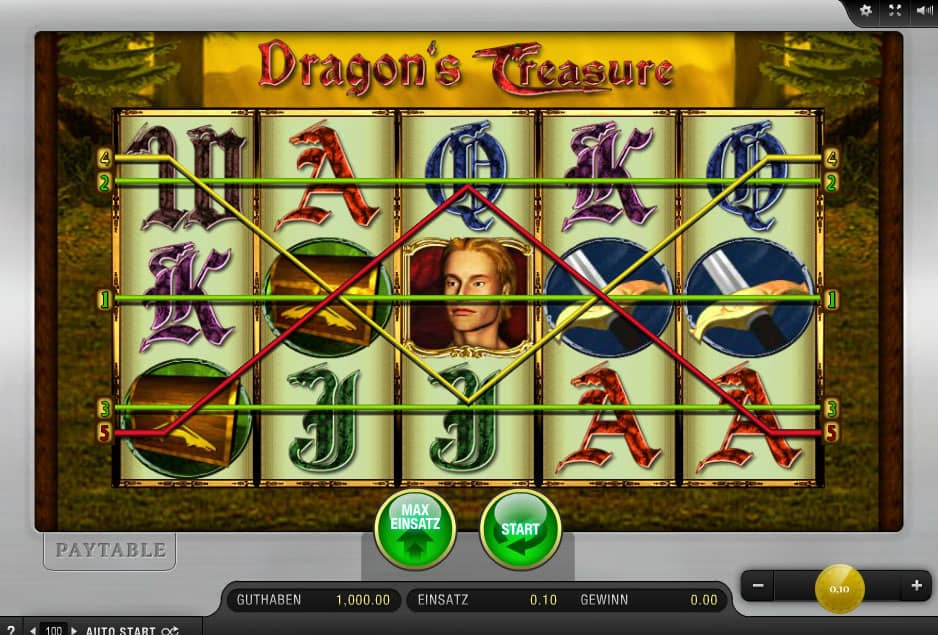 Dragon's Treasure online spielen