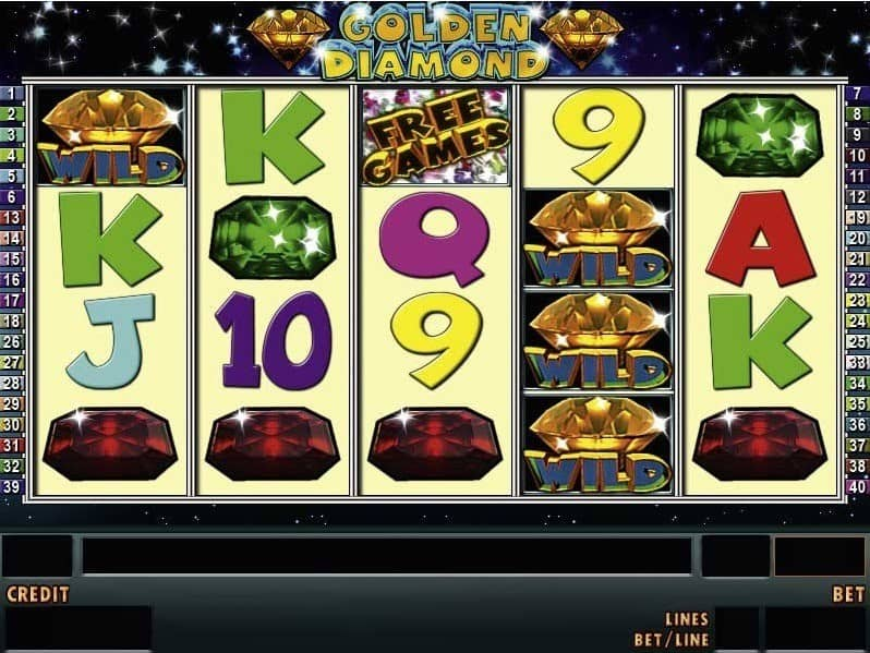 Sunmaker Golden Diamond Spielautomat