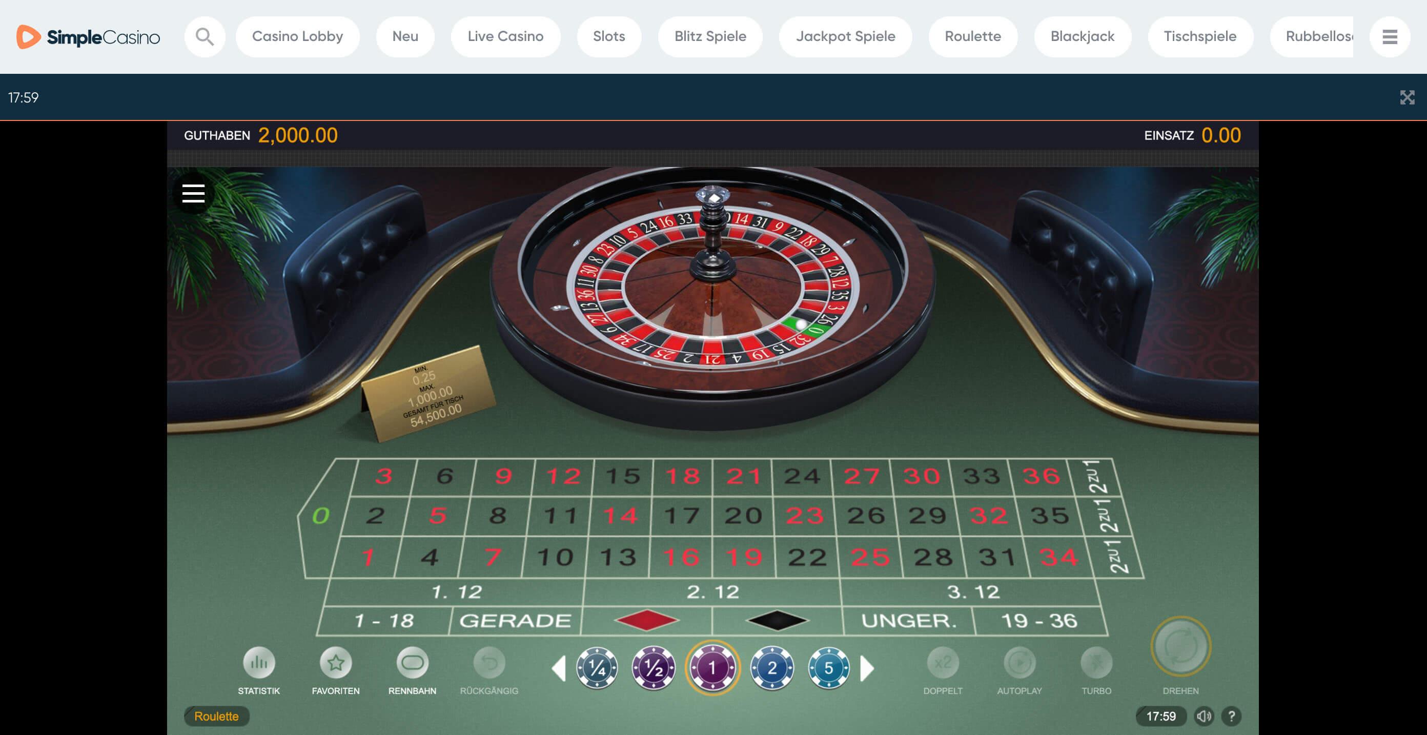 Casino Test Online