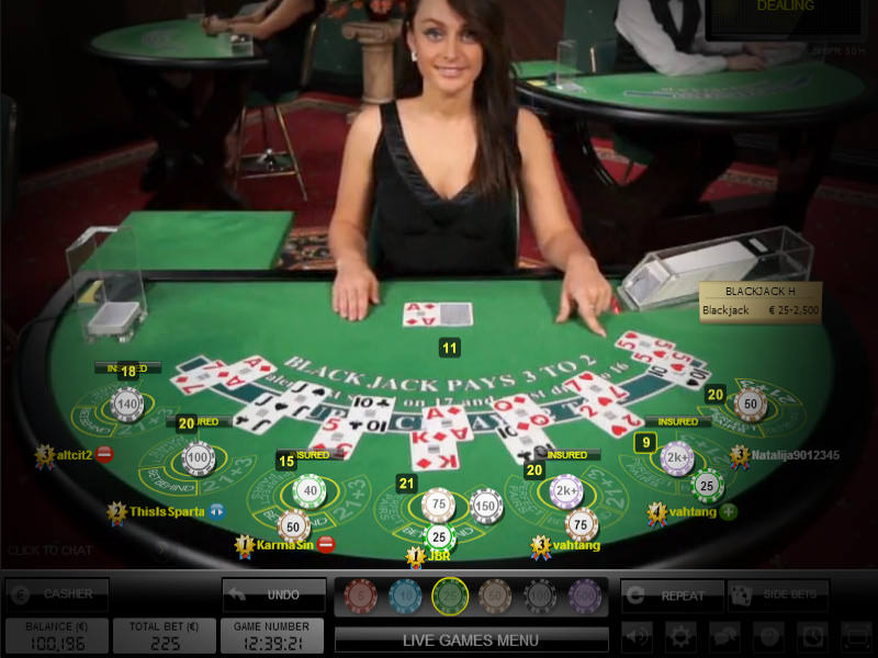 Casino Club Live Blackjack