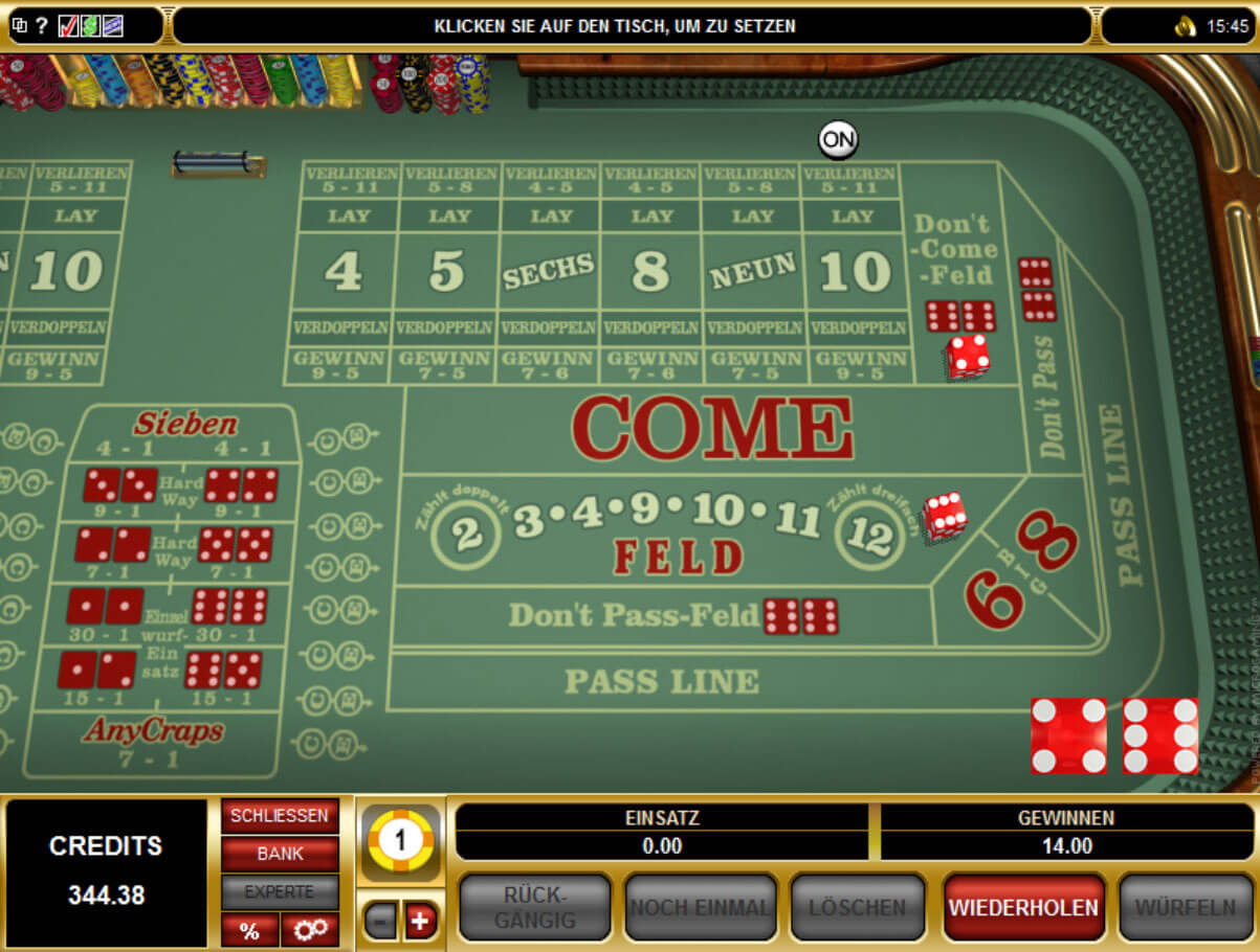 online echtgeld casino dice and roll