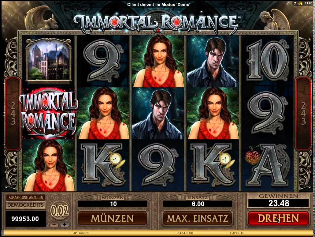 Immortal Romance Slot - MicroGaming - Rizk Online Casino Deutschland