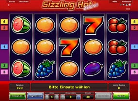 online casino mit book of ra sizzling hot free game