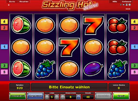 echtgeld casino online sizzling hot games