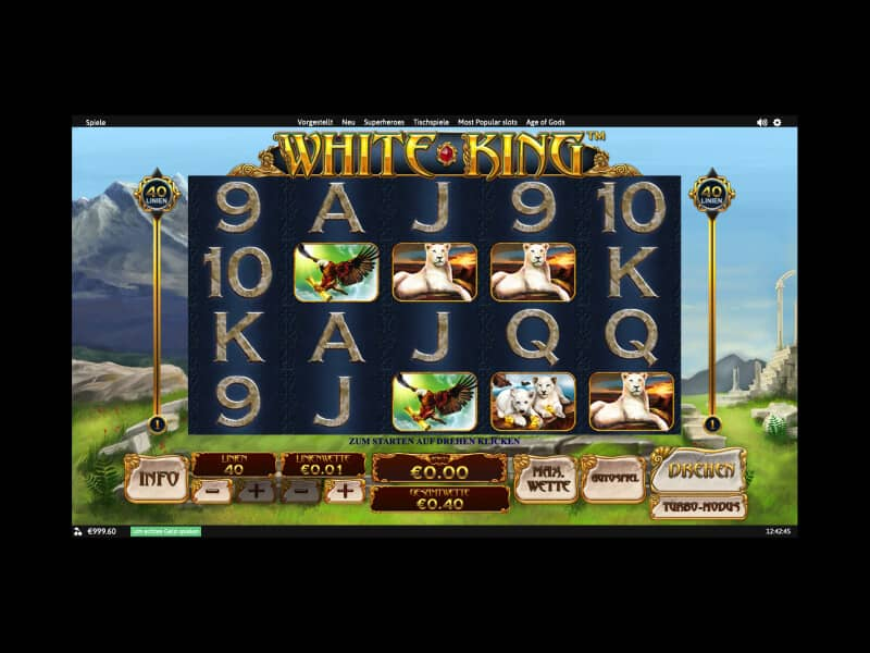 Screenshot Winner casino spielautomat White King