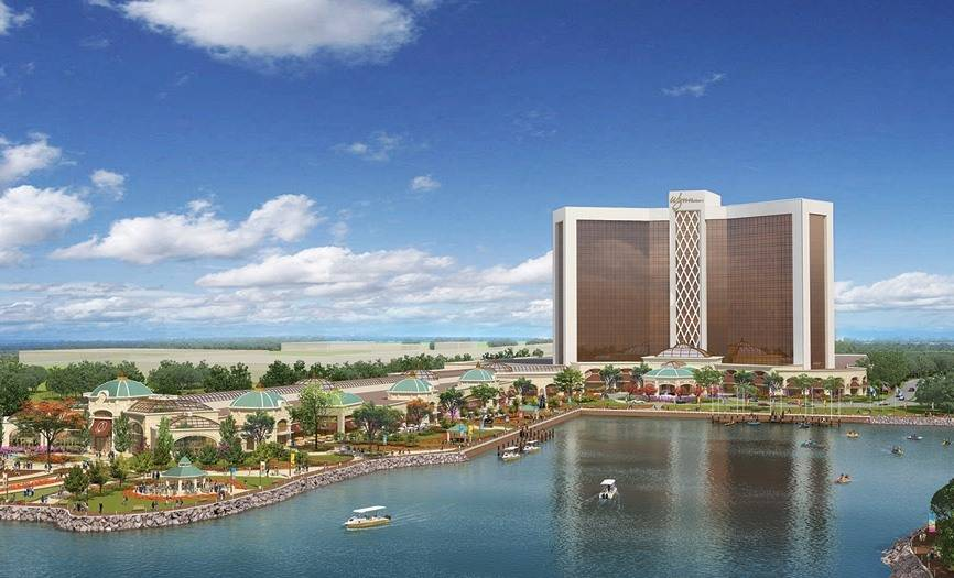 Das geplante Wynn Resorts in Everett