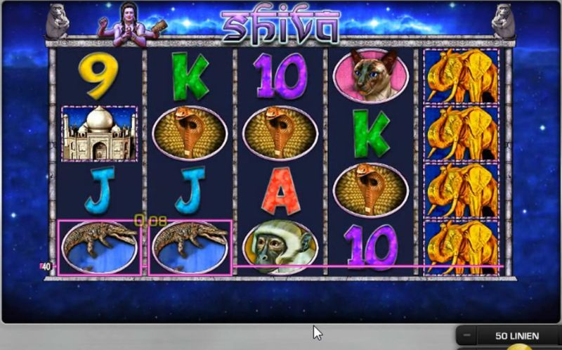 Glücksspielautomat Shiva