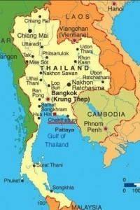 Thailand und Kambodscha