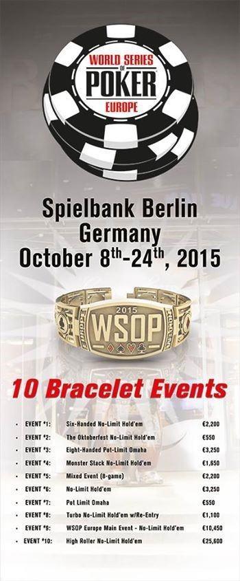 Programm WSOPE Berlin 2015