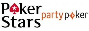 Logos Party Poker und PokerStars