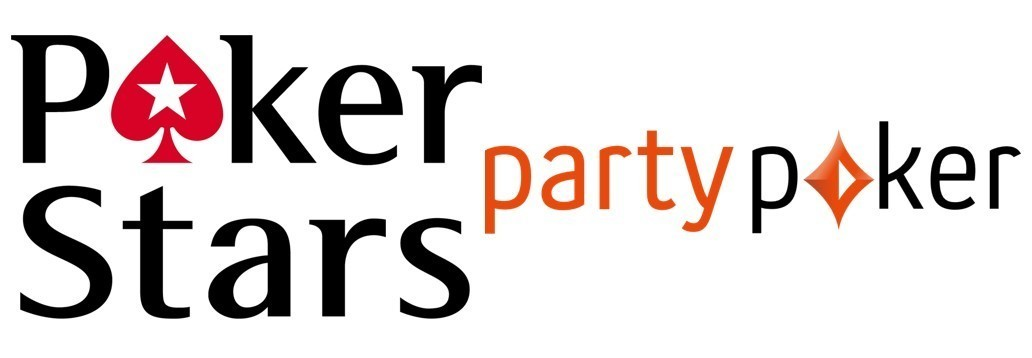Logos Party Poker und PokerStars