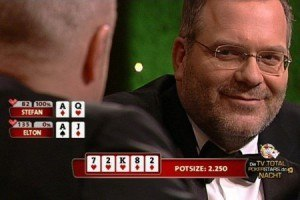 TV total Pokernacht Elton