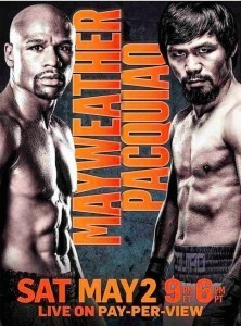 Poster Boxkampf des Jahres