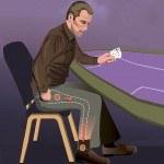 """Croupier bestiehlt Casino durch geheimen """"Hosenkanal"""""""