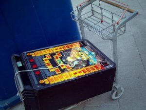 Ausgemusterter Spielautomat