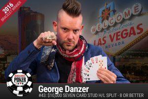George Danzer WSOP 2016