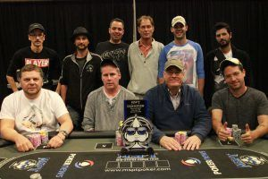 Hauge am MSPT Final Table