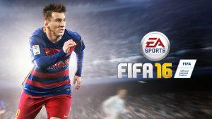 FIFA 16: Cover