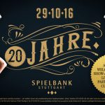 Spielbank Stuttgart: Goldener Facelift zum 20. Geburtstag