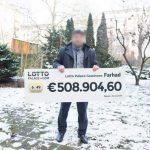 Lottogewinn von einer halben Millionen Euro: Syrischer Familienvater hat Anlass zum Feiern