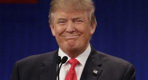 Das Bild zeigt Donald Trump.