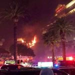 Brand im Bellagio in Las Vegas