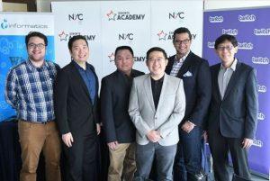 Das Bild zeigt die Gründer der eSport Akademie.