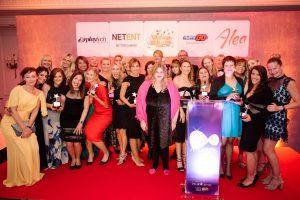 Gewinnerinnen der Women in Gaming Awards in London.
